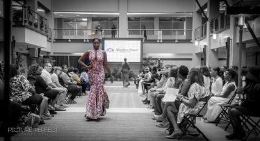 Winston Salem fashion week, designs by Jatcie Williams.